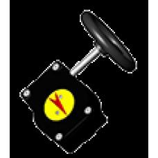 VPNREDUCT Механический редукторный привод для затвора серии VPN