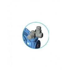 """Фланцевый дисковый поворотный затвор с двойным эксцентриситетом Tecofi VP4201-U04 Ру10 – корпус и диск из ковкого чугуна – с электроприводом """"Auma"""" DN 200-1600"""