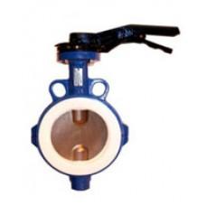Межфланцевый дисковый поворотный затвор Tecofi VP4449-02PTFE