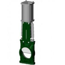 Шиберная ножевая задвижка под силос Tecofi VGS3400-03