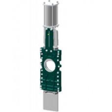 Шиберная ножевая задвижка со сквозным ножом Tecofi VGT3400-03