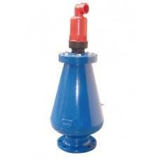 Воздухоотводчик тройного действия для сточных вод Tecofi PVTU4240